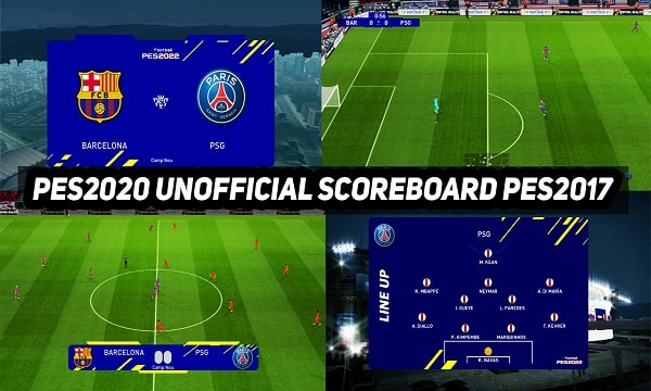 PES 2022 Unofficial Scoreboard For PES 2017