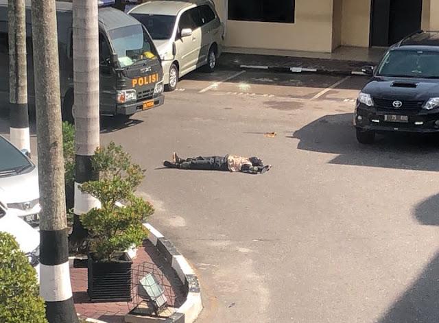 Terduga Kawanan Teroris Beraksi di Polda Riau