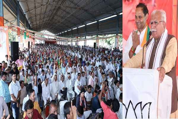 cm-manohar-lal-appeal-to-vote-for-bjp-in-prithla-vidhansabha-mohna-rally