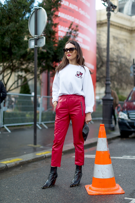 Evangelie - Street Chic: Style from Paris Harper's Bazaar