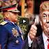 Pres. Donald Trumph Humahanga, Pinuri Ang Mga Pulis At Si Pres. Duterte