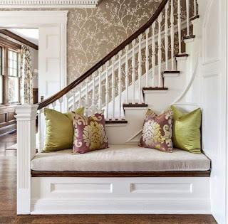 أفكار ديكورات مميزة للمنزل افكار ديكور تحت الدرج ديكورات منزلية خشبية