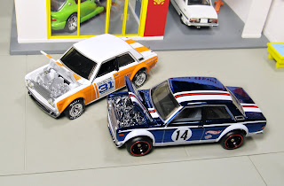 Hot Wheels convention Datsun Bluebird 510 rlc