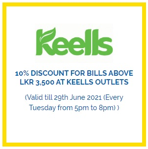 10% Discount For Bills Above Lkr 3,500 At Keells Outlets for HNB Credit Cards