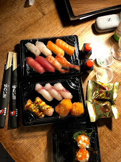 ピサの日本料理店の寿司