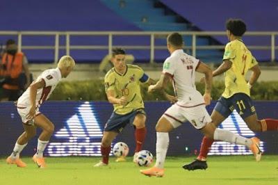 ملخص واهداف مباراة كولومبيا وفنزويلا (3-0) تصفيات كاس العالم