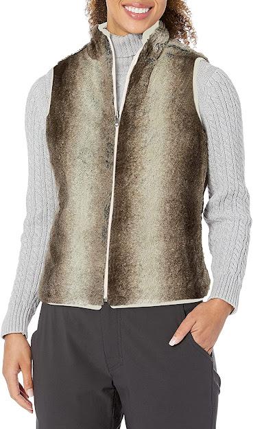 Good Quality Reversible Faux Fur Vest For Women