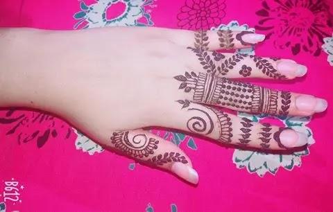 bridal-mehndi-design-for-girl-fingers