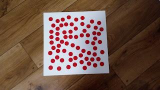 karty z kropkami matematyka dla dzieci