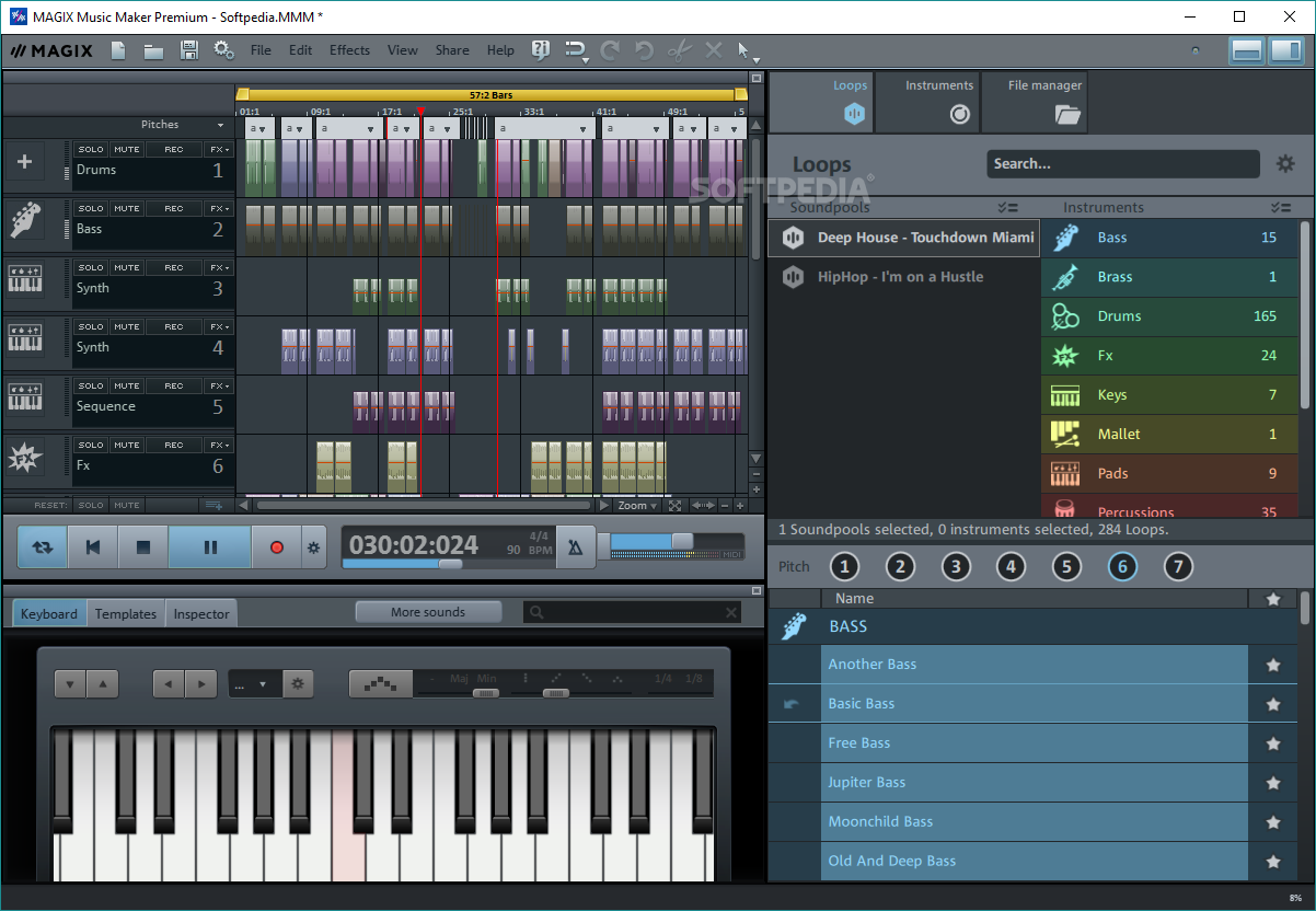Review Magix Music Maker Premium The Test Pit