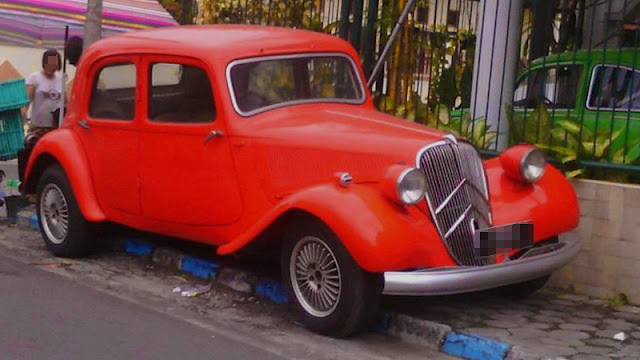 Citroën Traction Avant Indonesia