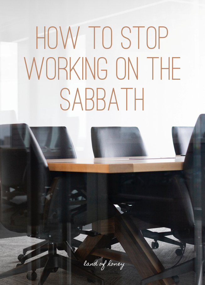 How To Stop Working on Shabbat