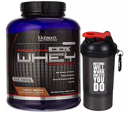 Ultimate Nutrition Prostar 100% Whey Protein.