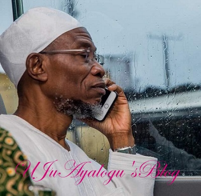 Buhari Calls Aregbesola On Phone, To Commiserated Over Mother's Death