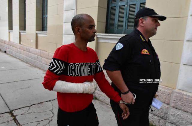 Αργολίδα: Στο εισαγγελέα Σομαλός που συνελήφθη για 5 εμπρησμούς στο Λυγουριό [ΒΙΝΤΕΟ]