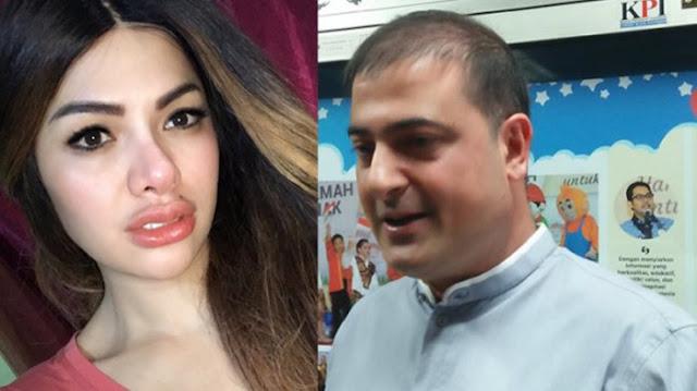 Nikita Mirzani dan Sam Aliano