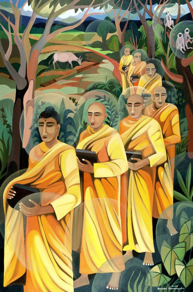 El Hurgador [Arte en la Red]: Senaka Senanayake (I) [Pintura]