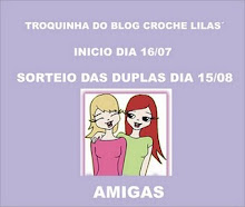 Troquinha do blog: Croche Lilás