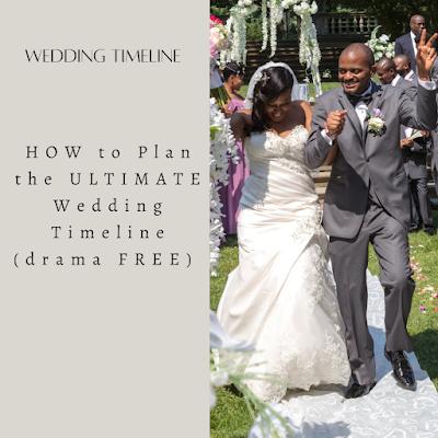 Wedding Timeline-wedding planning-Weddings by K'Mich Philadelphia PA