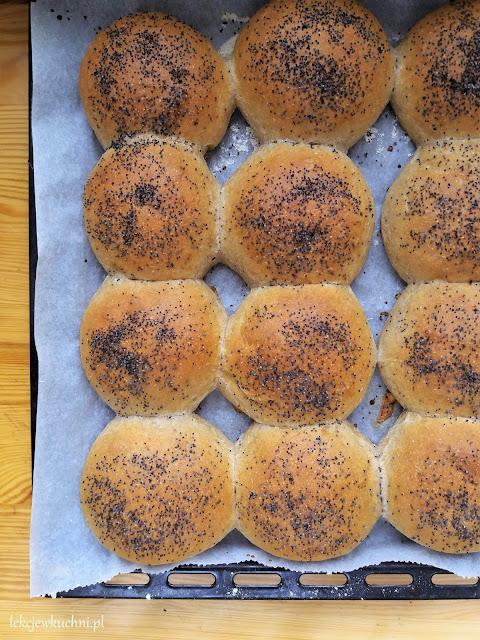 Bułki pszenne z makiem / Poppyseed Wheat Rolls