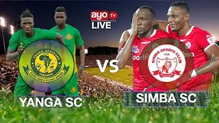 Yanga SC VS Simba SC MAPINDUZI CUP 2021 | LIVE