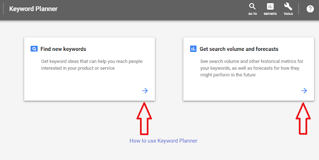 Find New Keyword and Get search Volume