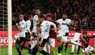 Milan vs Sassuolo 1-0 Video Gol Highlights
