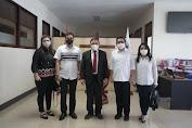 Berkunjung Ke Kantor Sinode GMIM, Mor-HJP Didoakan Pendeta Arina