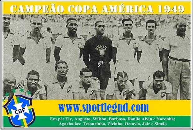 منتخب البرازيل الفائز بكوبا امريكا 1949