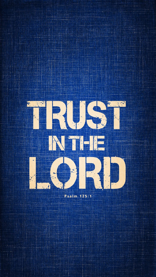 Trust In The Lord Psalms 1251 Mobile Wallpaper Tamil Christian