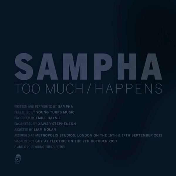 Sampha - Too Much / Happens - Single Cover