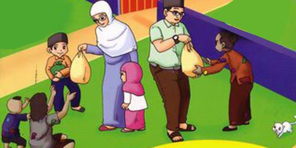 Lafadz doa ketika menerima zakat fitrah dan zakat maal
