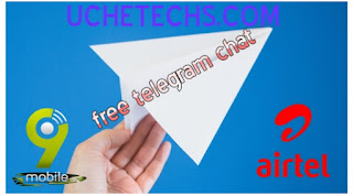 Telegram Free Chat Airtel and 9mobile