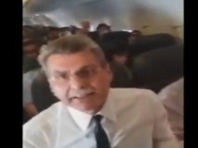 Romero Jucá é hostilizado em voo e tenta bater em mulher