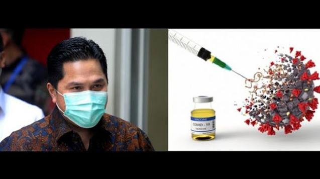 Beredar Sprindik Korupsi Alat Rapid Test COVID-19 Erick Thohir