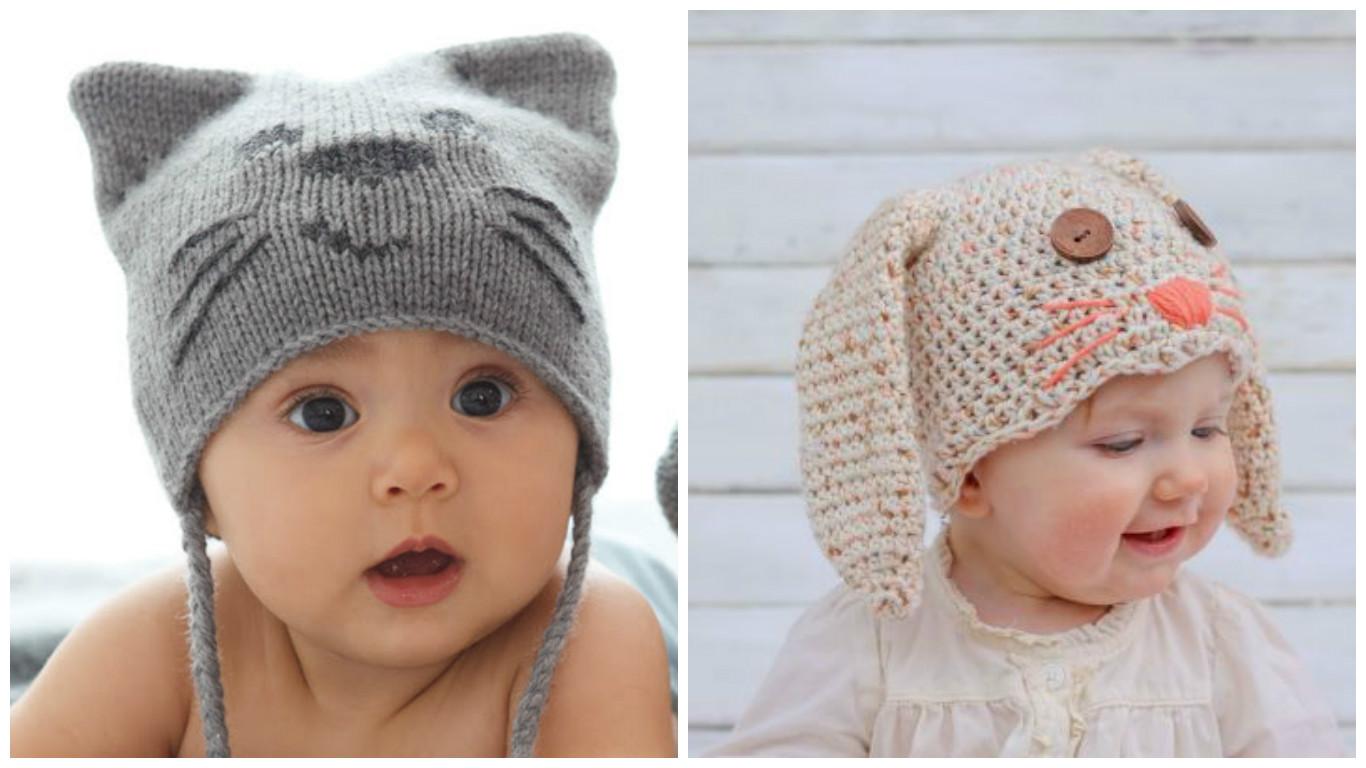 c mo hacer un gorro para beb en crochet con forma de