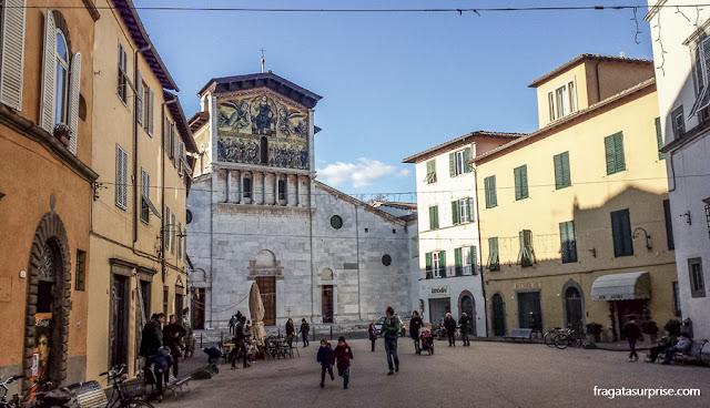 Basílica de San Frediano, Lucca, Toscana, Itália