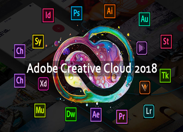 Adobe CC Creative Cloud 2018 -
