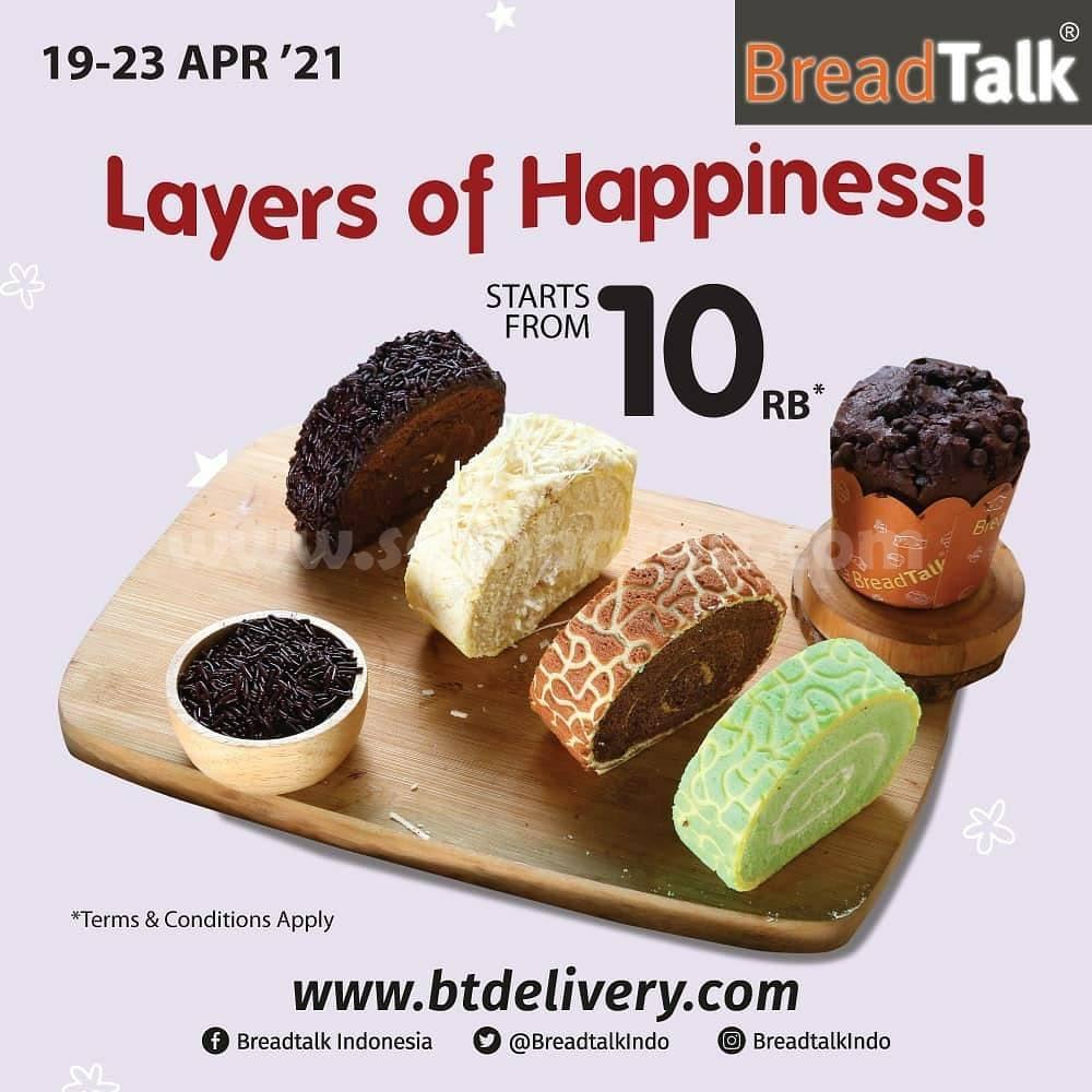 Promo BreadTalk Layers of Happiness! Mulai dari Rp 10.000