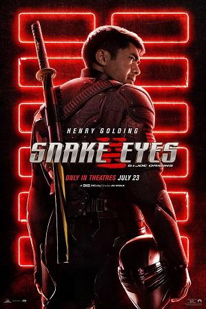G.I. Joe: Snake Eyes (2021) 300MB Full English Movie Download 480p WebRip