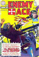 Showcase v1 #58 Enemy Ace dc comic book cover art by Joe Kubert
