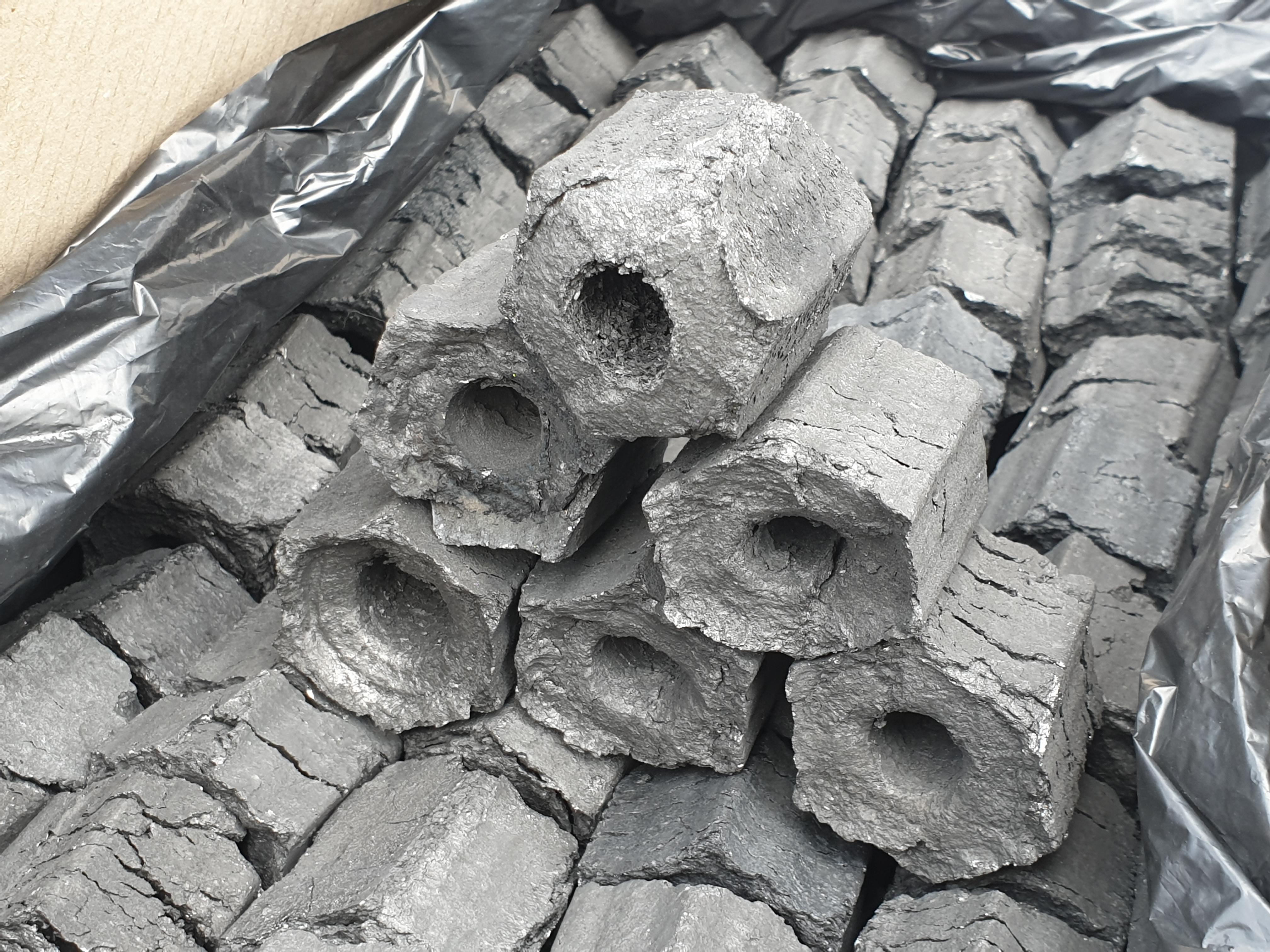 Arang Briket Sawdust Grade E Below - Sawdust Charcoal Jakarta