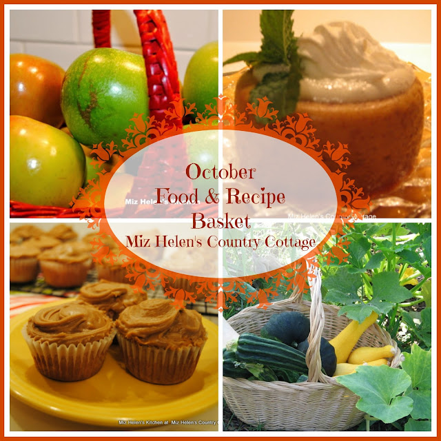 October Food and Recipe Basket at Miz Helen's Country Cottage