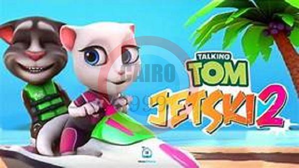 تحميل لعبه  Talking Tom Jetski 2