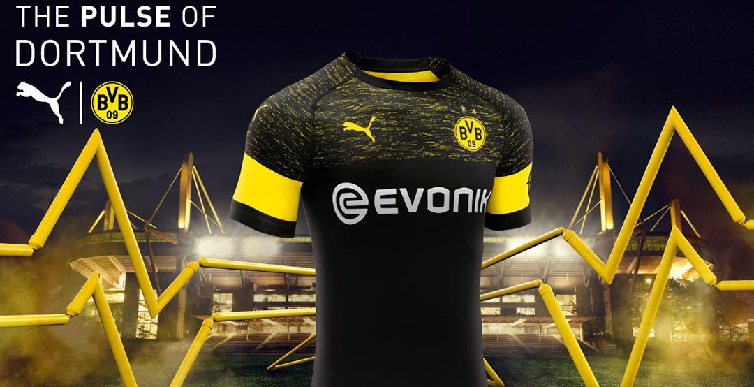 Image result for borussia dortmund away jersey