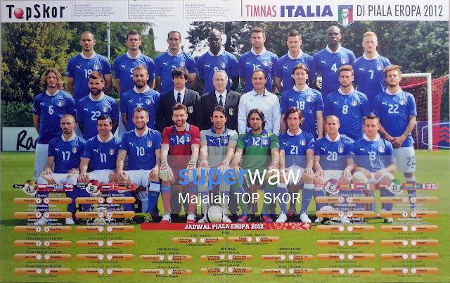 Poster Tim Italia 2012