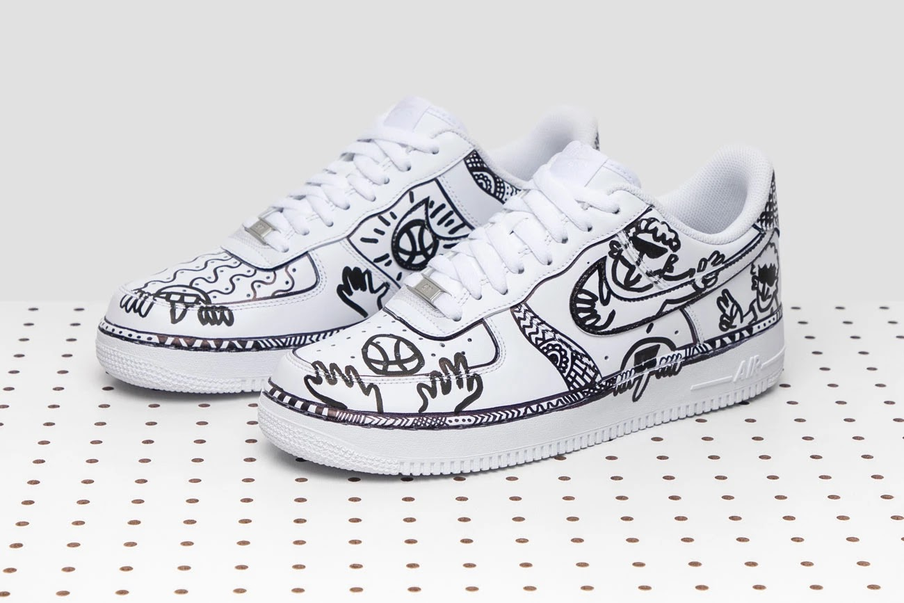 63878d349f7 GOAT has announced a new do-it-yourself custom sneaker contest where  everyone is invited to express their creativity on a wide selection of kick  as their ...