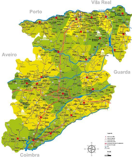 mapa das freguesias do concelho de viseu LETRAS E CONTEÚDOS: (opinião) Viseu por um canudo: três exemplos mapa das freguesias do concelho de viseu