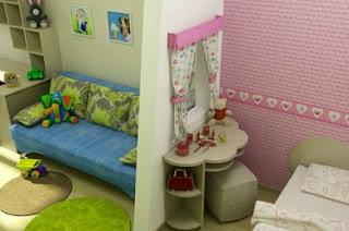 dormitorio compartido para niños