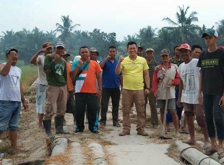 Sambut HUT  Asahan ke-74,  Tujuh Desa di Panca Arga Gotong Royong Massal